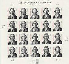 Harriet Beecher Stowe Sheet of Twenty 75 Cent Postage Stamps Scott 3430