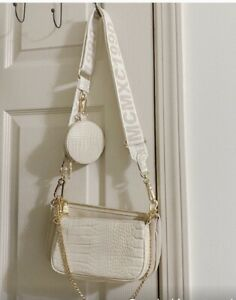 Steve Madden Burgent Bone Crossbody Multi Bag
