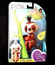WowWee Fingerlings Baby Sloth Kingsley Finger Pet Fingerling Monkey Exclusive