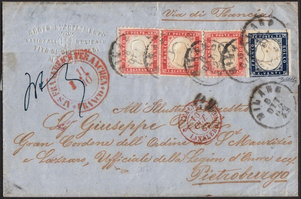 SPC sas TORINO Postal History