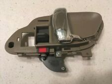 1995 1998 Chevy GMC truck right door handle interior Tan and Chrome Aftermarket