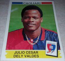 FIGURINA CALCIATORI PANINI 1994/95 CAGLIARI DELY VALDES ALBUM 1995