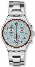SWATCH - IRONY CHRONO - CURLING FAMOUS - YCS501G - NEW !