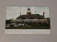 Vintage Postcard - Casino At Riverton Park, Portland ME Maine posted 1906 #525
