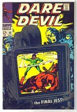 Daredevil #46 The Final Jest! Marvel Comic Book ~ Vf
