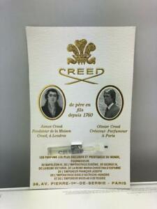 Creed Sample Vial 0.08 oz 2.5 ml Eau De Parfum Splash - Assorted - You Pick
