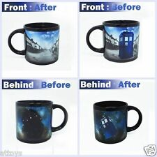 Novelty Ceramic Mug Coffee Cup - Doctor Who Disappearing TARDIS Heat Sensitive