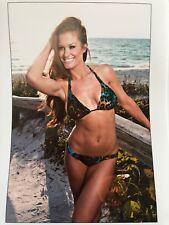 Brooke Adams Miss Tessmacher Leopard Beach Babe 8x10 WWE TNA IMPACT WRESTLING