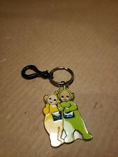 """1993 Rag Dolls Productions Teletubbies Pastic Keychain 2 1/2"""""""