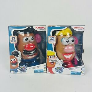 Playskool Friends! Mr. & Mrs. Potato Head Classic Retro Toys Set! DISCONTINUED!