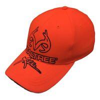 Realtree Xtra Hat Mens Strap Back Adjustable Logo Cap Hunter Orange Cap