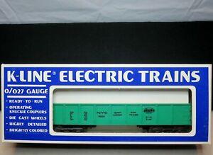 "K-Line K-5612 O27 Gauge O Scale Open Gondola ""New York Central"""