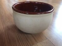 Vintage Oven Ware 75 U.S.A. Pottery Bowl