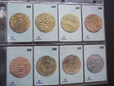OLD PORTUGUESE COINS 2000 Complete Set of  8 Different Phone Cards from Brazil