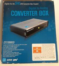 Digital Stream Digital to Analog TV Tuner Converter Box DTX9900D NIB