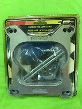 Mr Gasket Aluminum Carb. Adapter Kit #1932 RAT ROD CAMARO MUSTANG CORVETTE