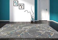 Rugs Area Rugs 8X10 Rug Carpets Modern Large Grey Floor Gray Bedroom 5X7 Rugs ~