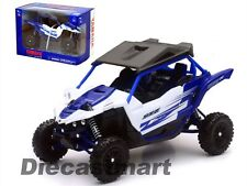 NEWRAY 1:18 57813A YAMAHA YXZ 1000R DIECAST ATV BUGGY 4X4 MODEL BLUE NEW