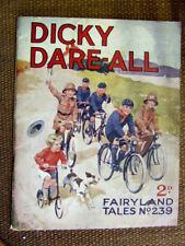 """Fairyland Tales No 239"". 1927.  Scarce John Leng / D.C. Thomson publication."