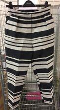 topshop stripe trousers Size Uk 8