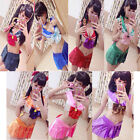 Sailor Moon Mercury Mars Sailor Jupiter Venus Costumes Bikini Swimsuit suit