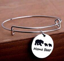 Mama bear 2 cub bracelet