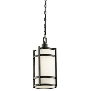Kichler Camden™ 1 Light Pendant Anvil Iron