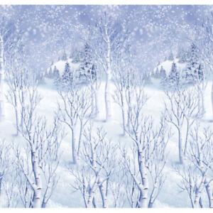 Winter Wonderland Room Roll Scene Setter