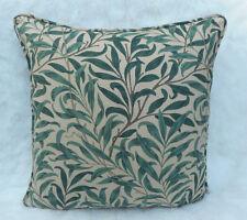 William Morris Stoff Kissenbezug 'Weide Äste' Taupe/Grün 100% Baumwolle