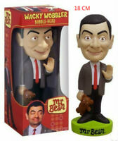 18CM Mr. Bean Wacky Wobbler Bobble Head Children's PVC Action Figures Gifts