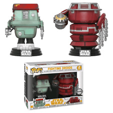 EXCLUSIVE Fighting Droids Solo Star Wars FUNKO Pop Vinyls New in Box