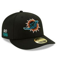New Era Miami Dolphins NFL 59Fifty 5950 2020 Draft Low Profile Hat SZ 7 1/2 NEW