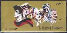 Frankrijk booklet postfris 1990 MHN MH21 - La Chanson Francaise (C030)
