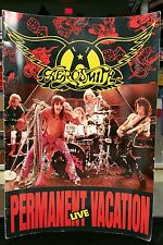 Vintage Rock Concert Program AEROSMITH PERMANENT VACATION LIVE