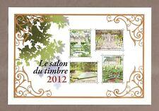 2012 BLOC 132 SALON DU TIMBRE 2012 doré  Neuf ** LUXE MNH