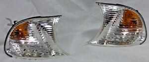 BMW OEM E46 3 Series 2003-2006 Coupe Convertible Clear Corner Light Pair New