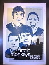ARCTIC MONKEYS MELBOURNE 2006 CONCERT POSTER ART JOE WHYTE