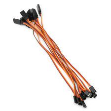 10pcs 200mm Wire Servo Lead Extension Cable for RC Futaba Jr Male to Female 20cm