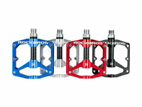 "RockBros bicycle mountain bike pedal 9/16"" aluminum alloy sealed bearing"