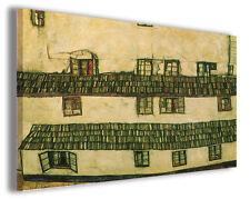 Quadro moderno Egon Schiele vol XX stampa su tela canvas pittori famosi