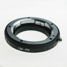 Leica M LM L/M Lens to Fujifilm Fuji X-Pro1 Xpro1 FX Camera Lens Adapter