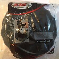 Hi-Buff Black Waffle Soft Polishing Foam Pad 591-115 (2 Pack)