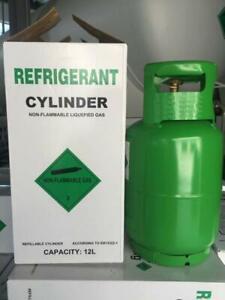 R404A Kältemittel Refrigerant 10 KG GAS NEU