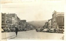Middlesboro KY Lee's Rexall~Hardware~The Hub~Cafe~Restaurant RPPC 1940s