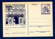 """AUSTRIA - Cart. Post. - 1978-1980 - 2,50 S - """"WIPA 1981"""" WIEN - 150.Auflage/3"""