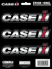 3 Piece Case IH Logo Decal / Sticker by Chroma - Stick Onz