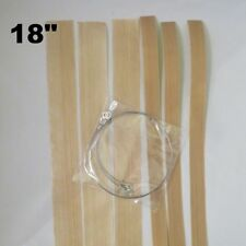 "18"" Round Wire Replacement Impulse Sealer Heat Element Seal & Cut Teflon- 3 Pack"