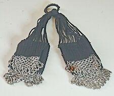 Antique 19th Century Metal Beaded Key Tassel VV599
