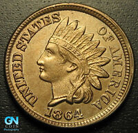 COPPER NICKEL 1864 Indian Head Cent  --  MAKE US AN OFFER!  #G5541