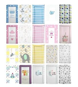 Deluxe Large Baby Changing Mat Soft Padded Waterproof Wipe Clean Change Mats